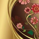 Flores rosadas de la margarita ilustración del vector