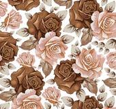 Flores. Rosas. Fundo bonito. Imagens de Stock