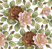 Flores. Rosas. Fundo bonito. Fotografia de Stock
