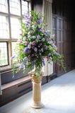 Flores roxas no casamento. Fotografia de Stock Royalty Free