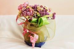 Flores secadas Fotografía de archivo libre de regalías