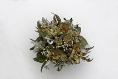 Flores secadas Imagen de archivo libre de regalías