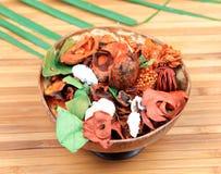 Flores secas de Ayurvedic Fotos de Stock