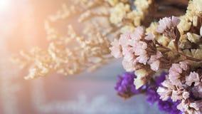 Flores secas no ramalhete Imagens de Stock