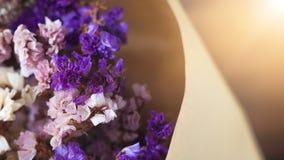 Flores secas no ramalhete Foto de Stock