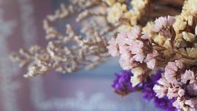 Flores secas no ramalhete Imagens de Stock Royalty Free