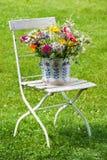 Flores selvagens coloridas do verão Fotos de Stock
