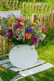 Flores selvagens coloridas do verão Imagem de Stock