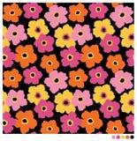 Flores sem emenda Fotografia de Stock