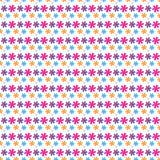Flores sem emenda do teste padrão Foto de Stock