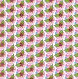 Flores sem emenda do teste padrão Imagem de Stock Royalty Free