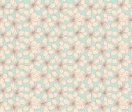 Flores simples de la vendimia Foto de archivo libre de regalías