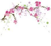 Flores sucias stock de ilustración