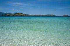 The Flores Taka Makassar Beach stock photos