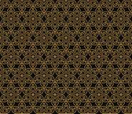 Flores tradicionales del modelo abstracto inconsútil indio ilustración del vector