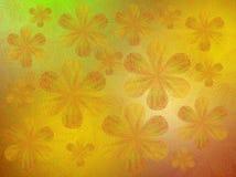 Flores transparentes pintadas Fotos de Stock