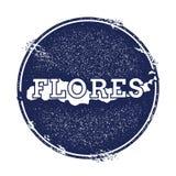 Flores vector map. Stock Photos