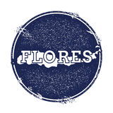 Flores-Vektorkarte Stockfotos