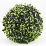 Flores verdes artificiais foto de stock