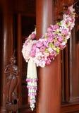Flores wedding la decoración Imagen de archivo libre de regalías