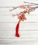 Flores y Año Nuevo chino de la joyería Imagen de archivo