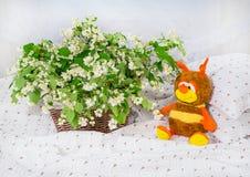 Flores y juguetes del jazmín Foto de archivo libre de regalías