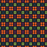 Flores y líneas vector Imagen de archivo