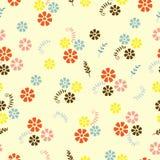 Flores y ramitas del campo ilustración del vector