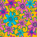 Flores y rizos Imagen de archivo