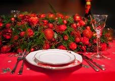 Floresce a decoração na tabela Foto de Stock Royalty Free