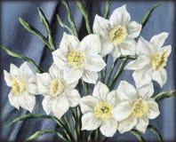 Floresce o narciso ilustração royalty free