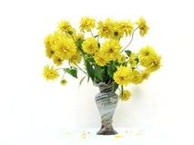 Floresce o ramalhete no vaso Foto de Stock Royalty Free