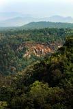 Floresta úmida e montanha em Tailândia do norte, Chiang Mai, Thaila Foto de Stock Royalty Free
