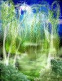 A floresta ilustração do vetor