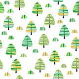 Floresta Ilustração Royalty Free