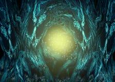 Floresta assombrada Foto de Stock