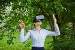 Floresta aumentada da realidade foto de stock royalty free