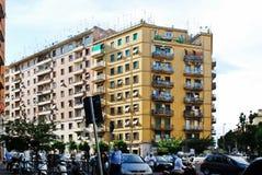 Floresta da antena da cidade de Roma no telhado o 30 de maio de 2014 Imagem de Stock Royalty Free