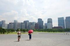 Floresta de arranha-céus da cidade Foto de Stock