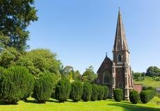 Floresta de Clearwell da igreja do ` s de St Peter do decano Oeste Gloucestershire Inglaterra Reino Unido Foto de Stock