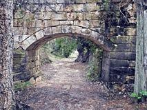 Floresta de pedra da arcada Fotografia de Stock