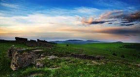 Floresta de pedra da pastagem Foto de Stock