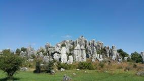 Floresta de pedra, Kunming, Yunnan, China Imagem de Stock