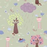 Floresta do conto de fadas Imagem de Stock Royalty Free