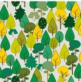 Floresta do outono. Sem emenda ilustração royalty free