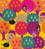 Floresta-jardim ilustração stock