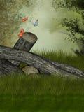 Floresta mágica Ilustração Stock