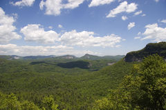 Floresta nacional de Nantahala imagem de stock royalty free