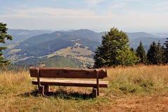 Floresta Negra - montanha de Belchen Fotos de Stock Royalty Free