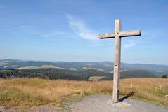 Floresta Negra - parte superior de Belchen Imagem de Stock Royalty Free